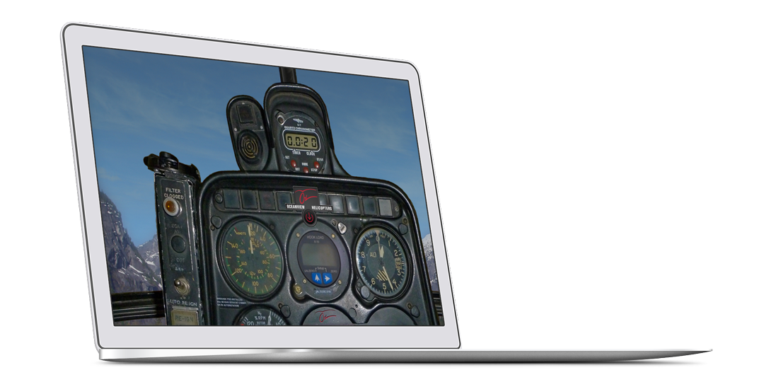 New website design for Oceanview Helicopters