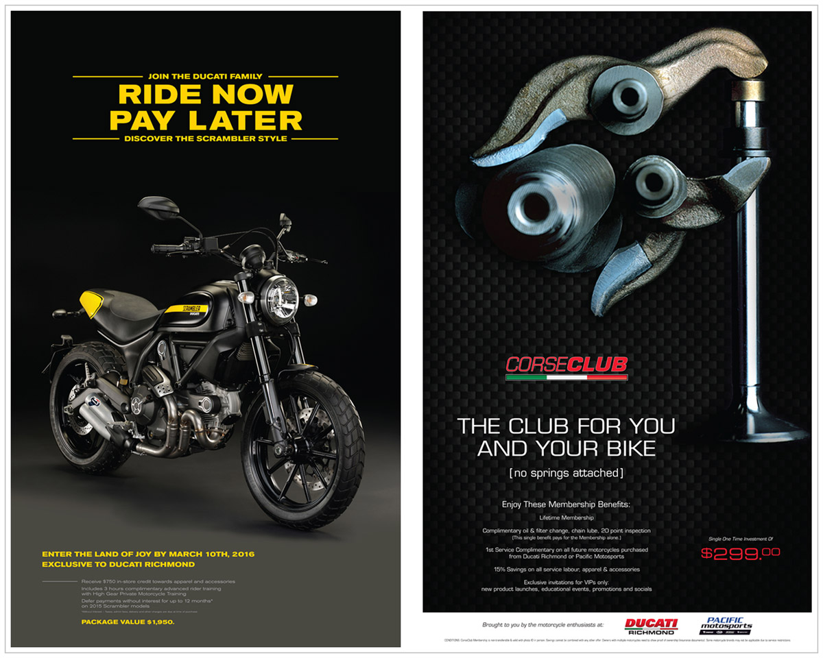 Ducati posters