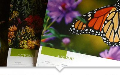 Nature Conservancy of Canada 2017 Calendar